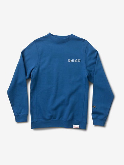 Hand Signs Crewneck - Royal Blue