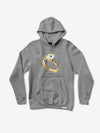 Hardware Ring Hoodie - Heather Grey