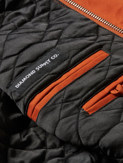 Striker Twill Jacket - Orange, Spring 19 -  Diamond Supply Co.