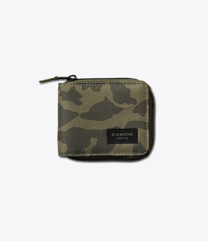 Camo Zip Wallet, Holiday 2016 Accessories -  Diamond Supply Co.