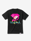 Flamingo Sign Tee - Black