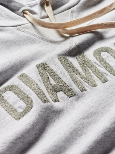 Diamond French Terry Team Hoodie - Ash, Summer 2019 -  Diamond Supply Co.