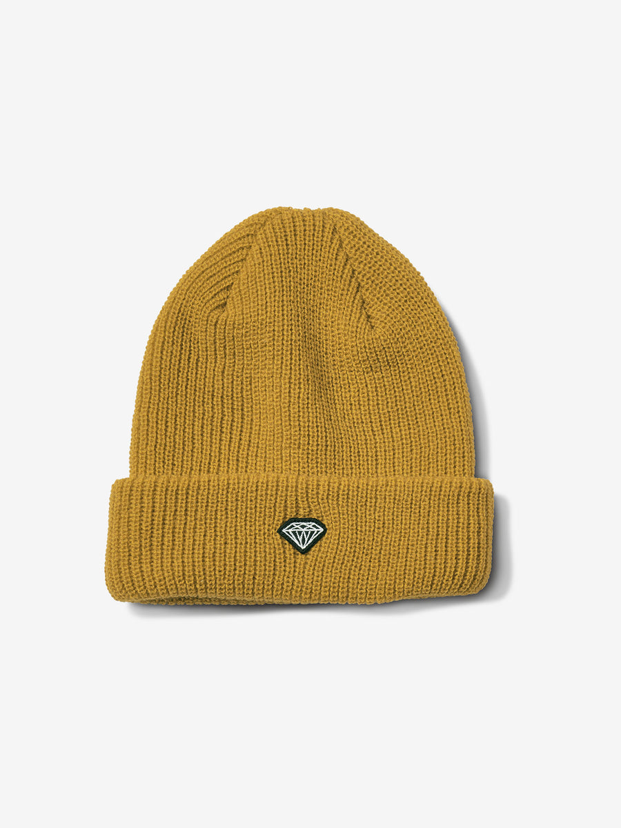Brilliant Patch Beanie - Mustard