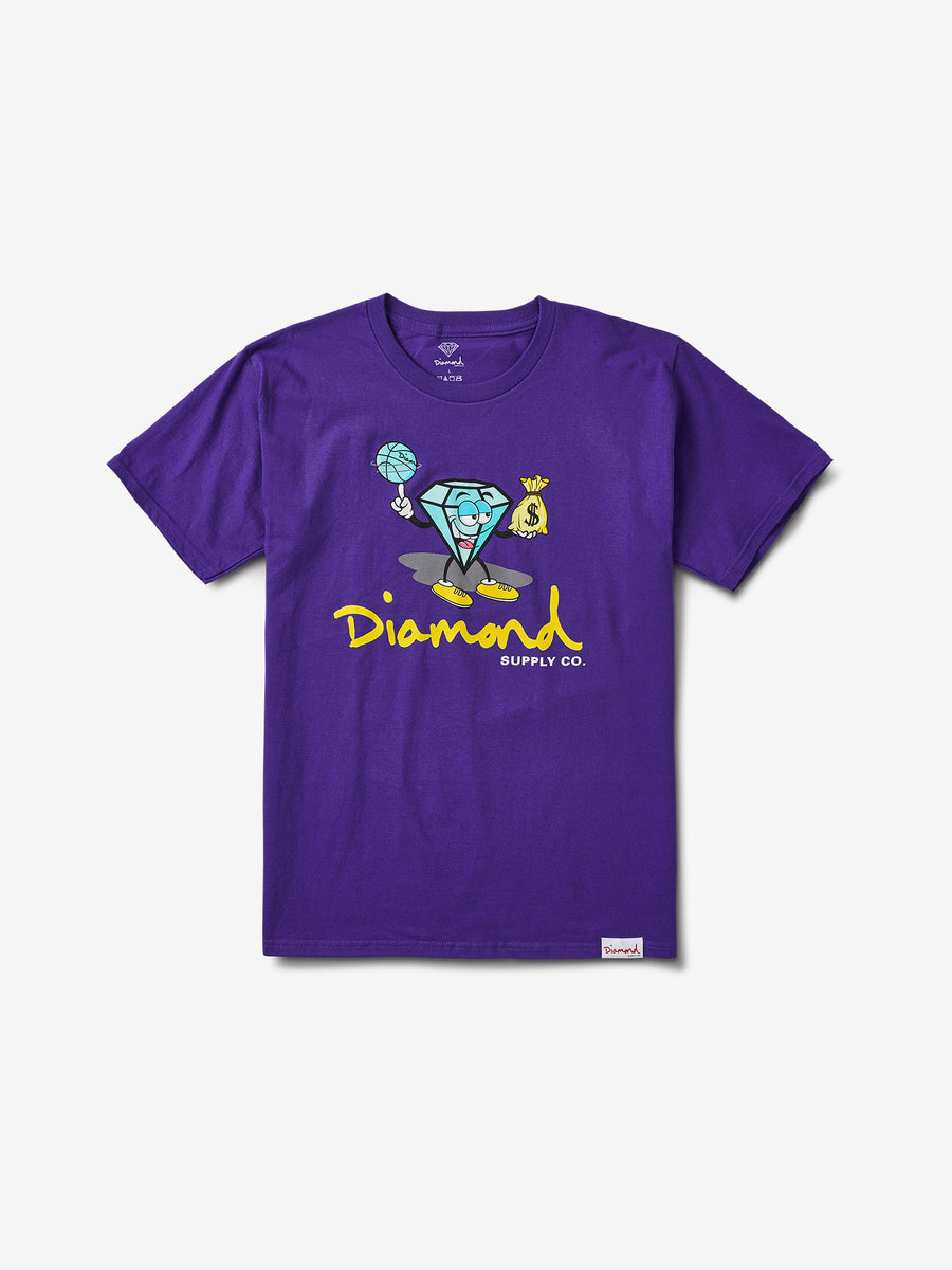 Hoop Dreams Cutty Tee - Purple