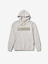 Diamond French Terry Team Hoodie - Ash