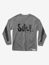 Oppose Longsleeve - Heather Grey,  -  Diamond Supply Co.