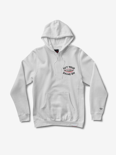 Shine On Hoodie - White,  -  Diamond Supply Co.
