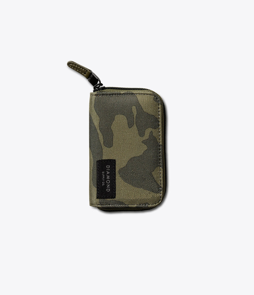 Camo Zip ID and Card Holder, Holiday 2016 Accessories -  Diamond Supply Co.