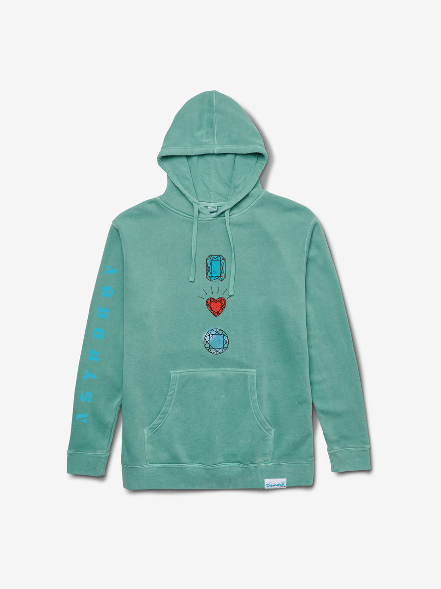 Diamond x Astroboy Soaring High Hoodie - Diamond Blue