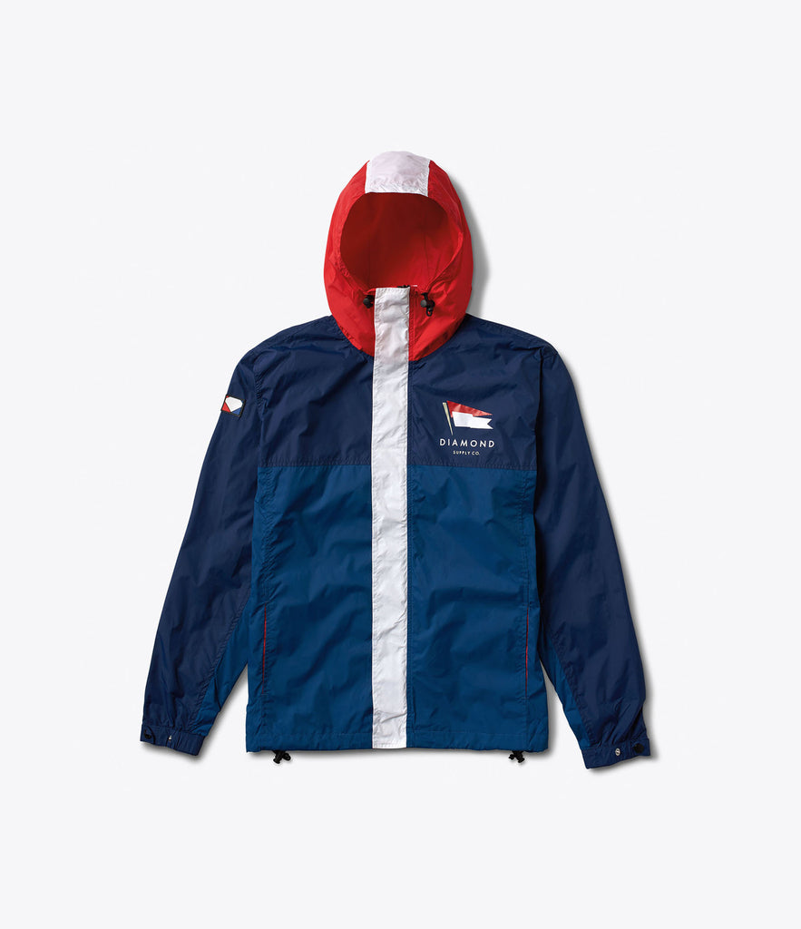 Yacht Windbreaker, Summer 2016 Delivery 1 Jackets -  Diamond Supply Co.