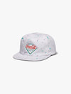 Diamond x Coca Cola Paint Splatter Snapback - White