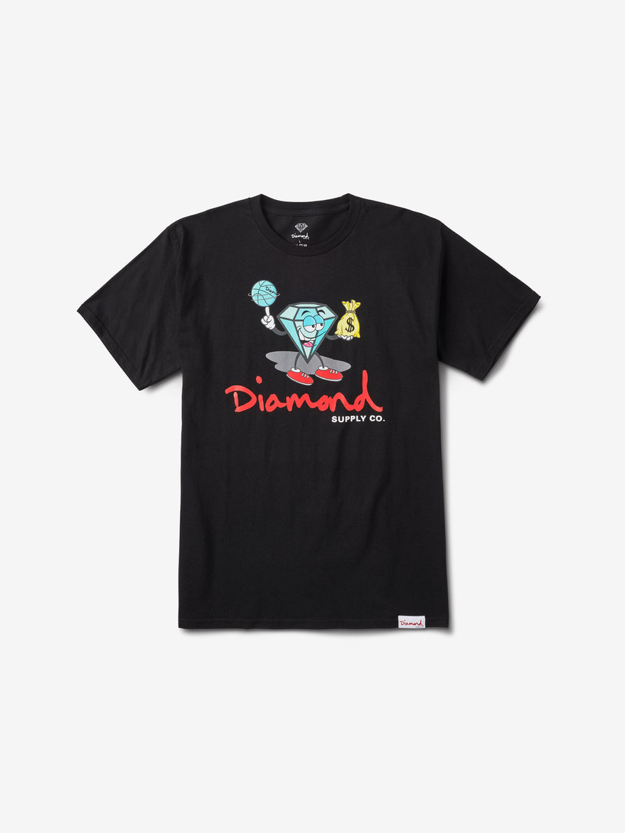 Hoop Dreams Cutty Tee - Black