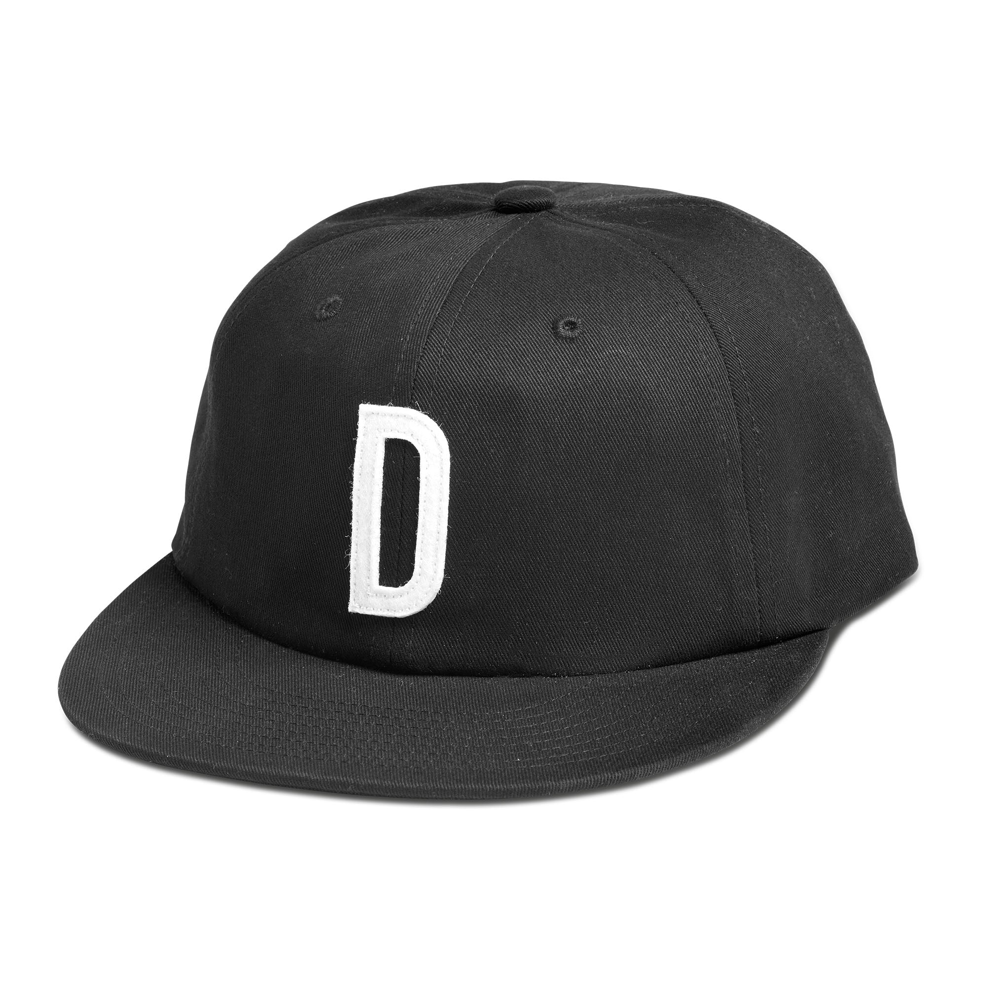 Logo 6 Panel Snapback Cap - Black Diamond Supply Company VghlF