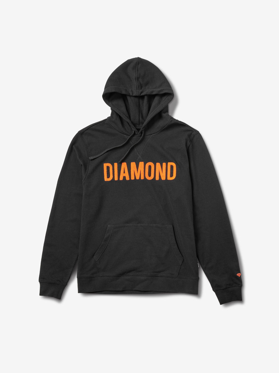 2b1c116b5ed782 Diamond French Terry Team Hoodie - Black
