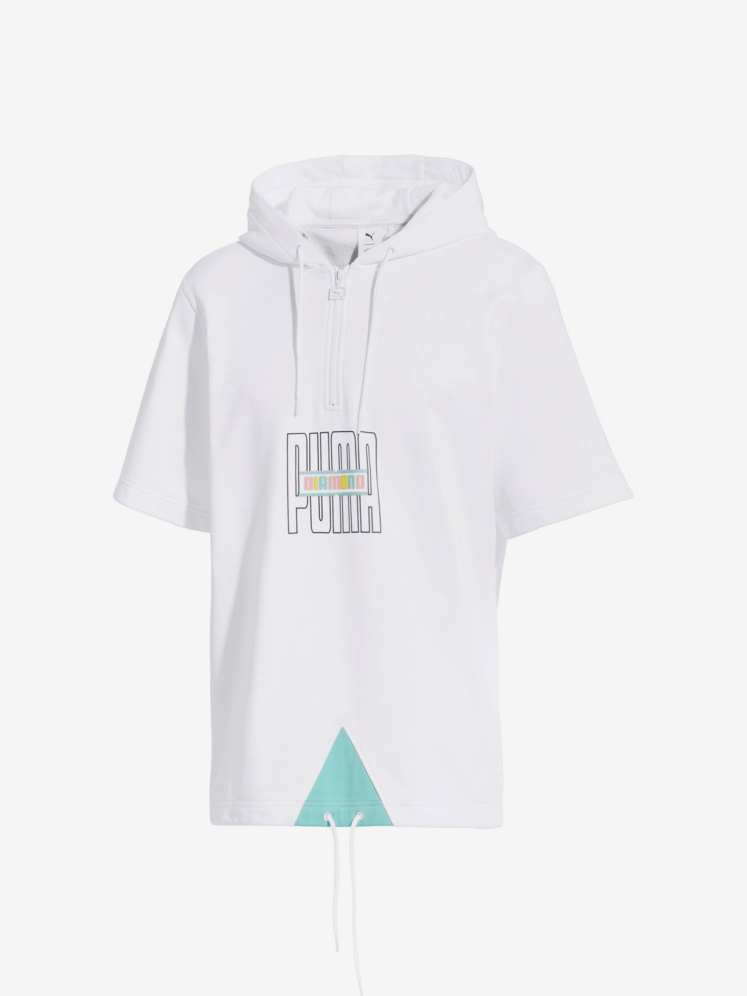 d2832cb33eb Diamond x Puma Hoodie - White - Diamond Supply Co.