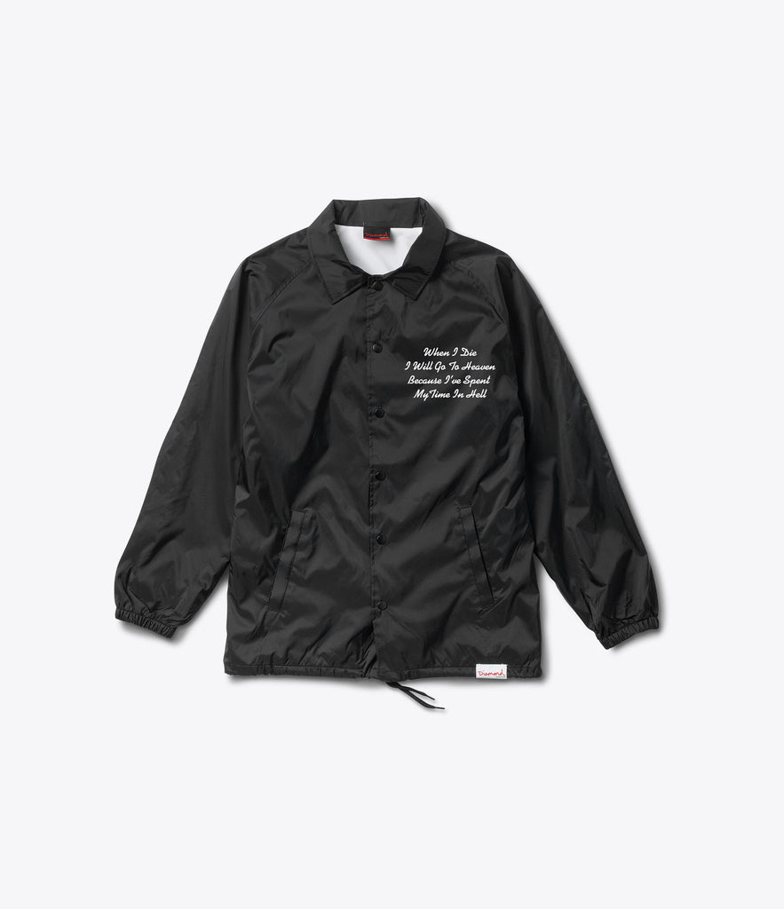 Pacific Tour Coach Jacket, Spring 2017 Delivery 1 Jackets -  Diamond Supply Co.