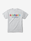 Building Blocks Tee - White,  -  Diamond Supply Co.