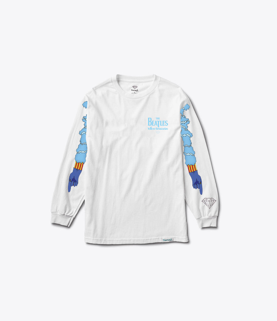 Diamond x Beatles Hey Bulldog Longsleeve Tee, Limited Additions -  Diamond Supply Co.