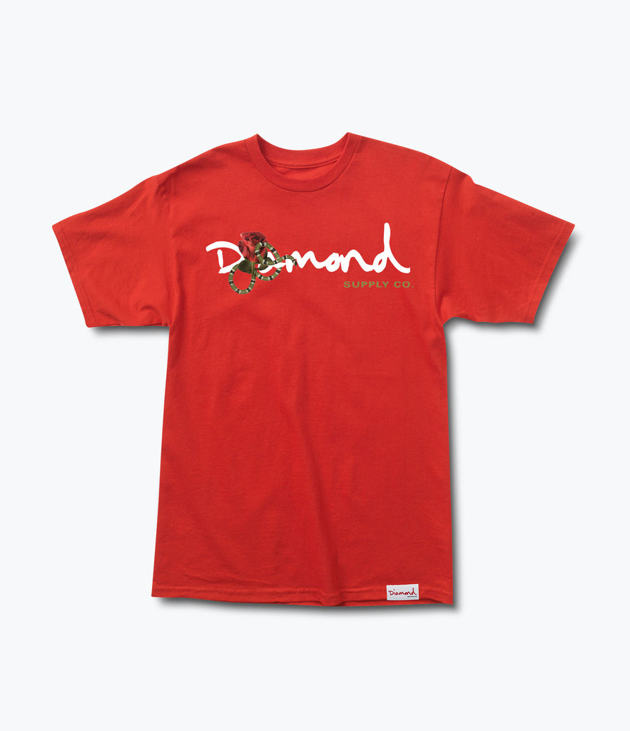 Snake OG Script Tee, Spring 2017 Delivery 1 Tees -  Diamond Supply Co.