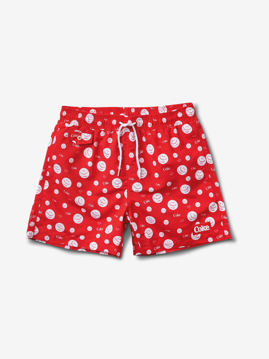 6e6bf6790aad Smiley Shorts - Red