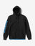 Diamond Polar Fleece Hoodie - Black