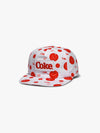 Diamond x Coca-Cola Smiley Snapback - White