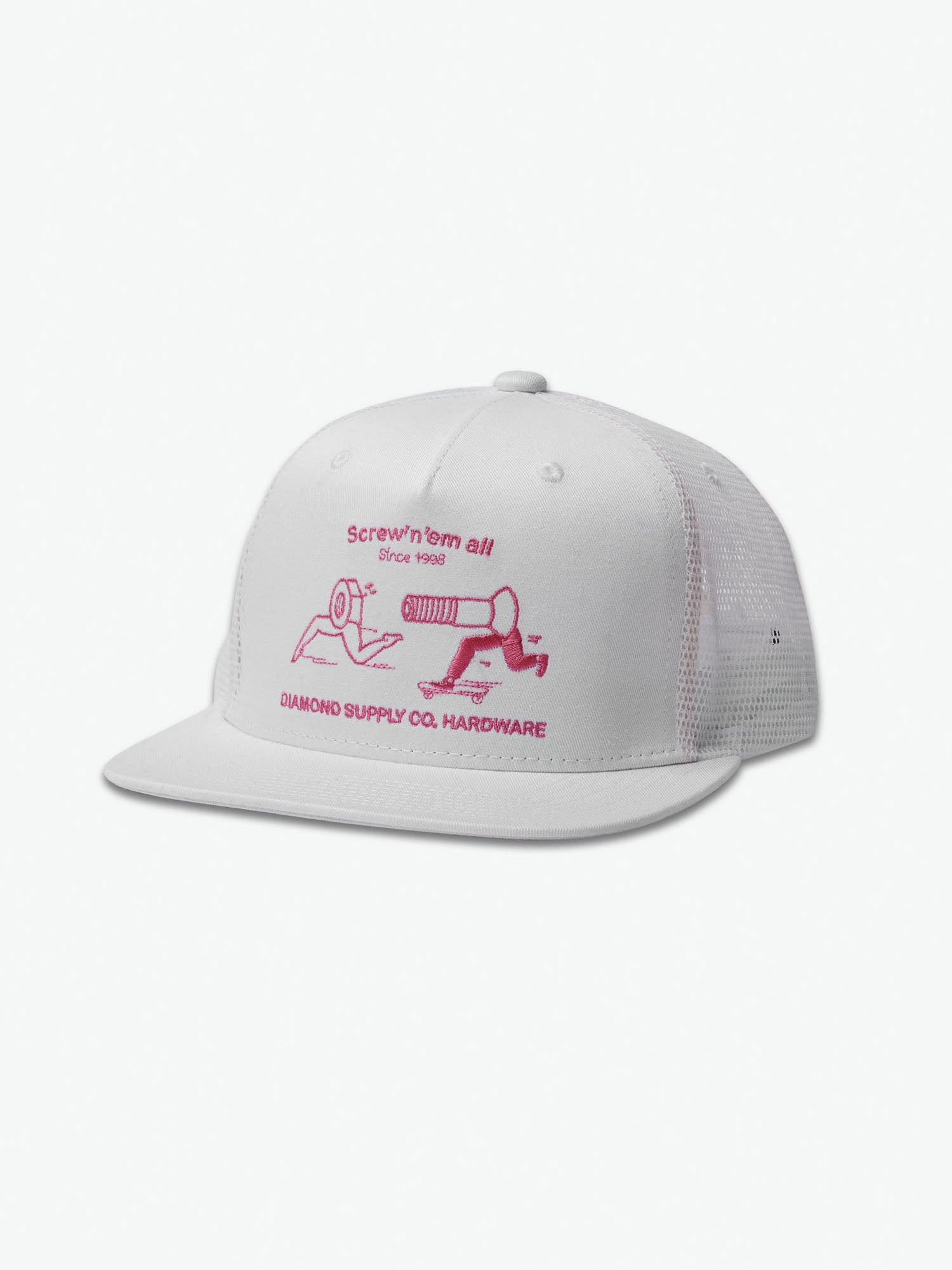 bce9be5fbe423c ... new arrivals screw em all snapback hat white diamond supply co. 2129d  ad647