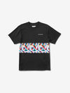 Pixel Panel Tee - Black