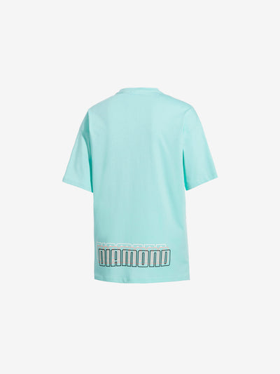 Diamond x Puma Tee - Aruba Blue, Puma 2019 -  Diamond Supply Co.
