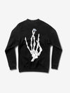 Hand Signs Crewneck - Black