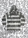 Diamond x Haring Stripe Rain Coat, Haring -  Diamond Supply Co.