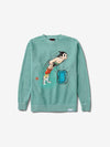 Diamond x Astroboy Soaring High Crewneck - Diamond Blue