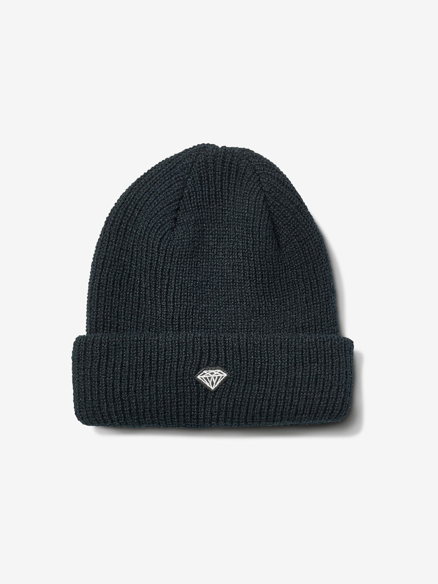 Brilliant Patch Beanie - Black