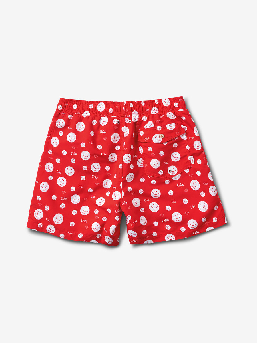 Smiley Shorts - Red