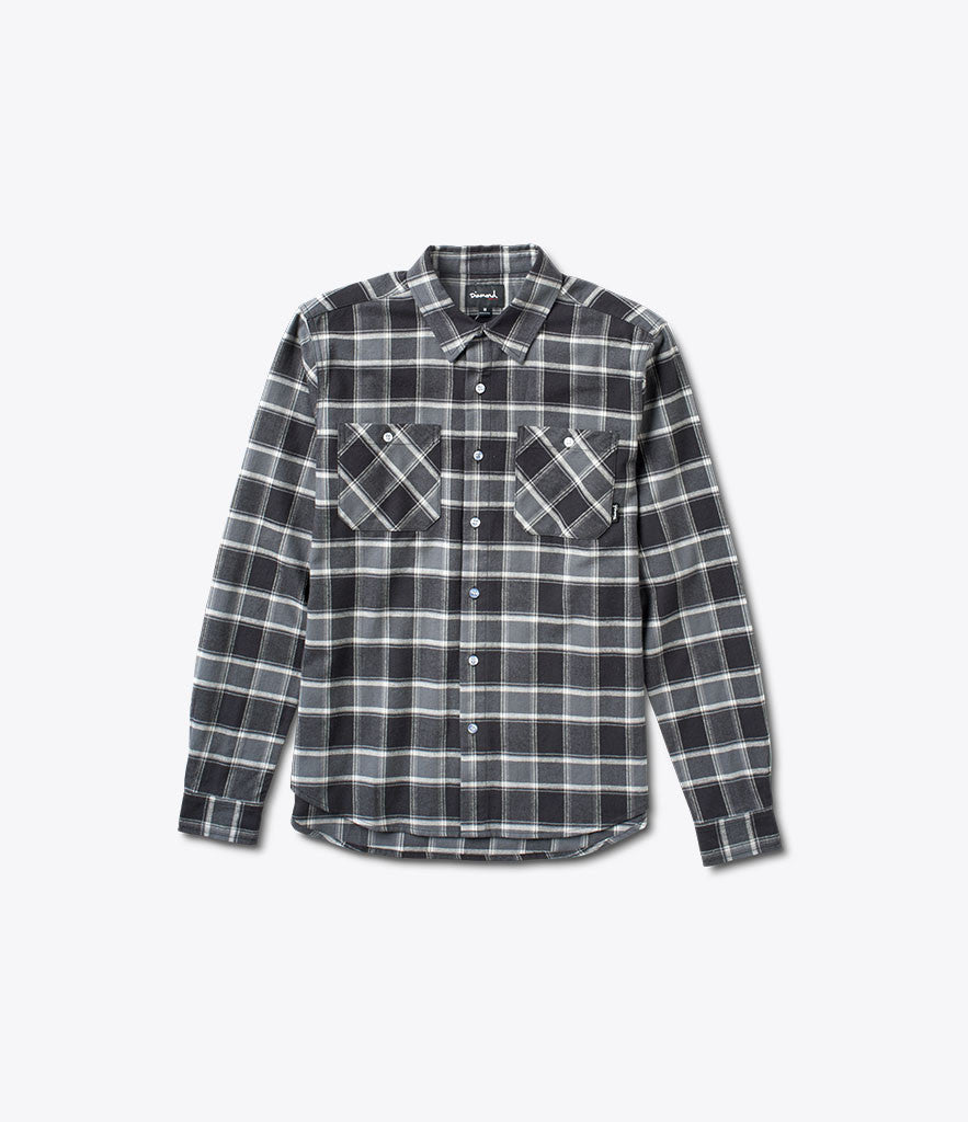 Radiant Plaid Flannel, Fall 2016 Tops -  Diamond Supply Co.