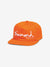 OG Script Unstructured Snapback - Orange