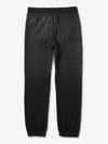 Diamond Quilted Sweatpants - Black