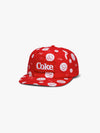 Diamond x Coca-Cola Smiley Snapback - Red