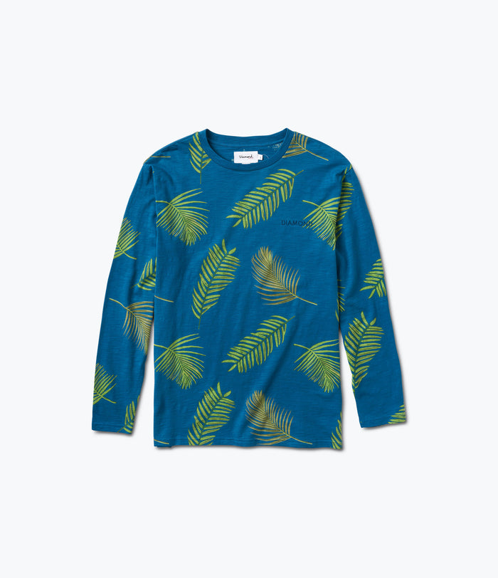 Paradise Longsleeve Top, Summer 2017 Delivery 1 Cut-n-Sew -  Diamond Supply Co.
