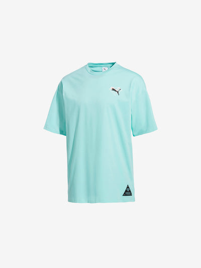 Diamond x Puma Tee - Aruba Blue