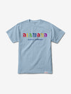 Building Blocks Tee - Powder Blue