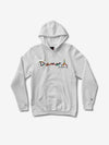 OG Script Fasten Hoodie - White,  -  Diamond Supply Co.