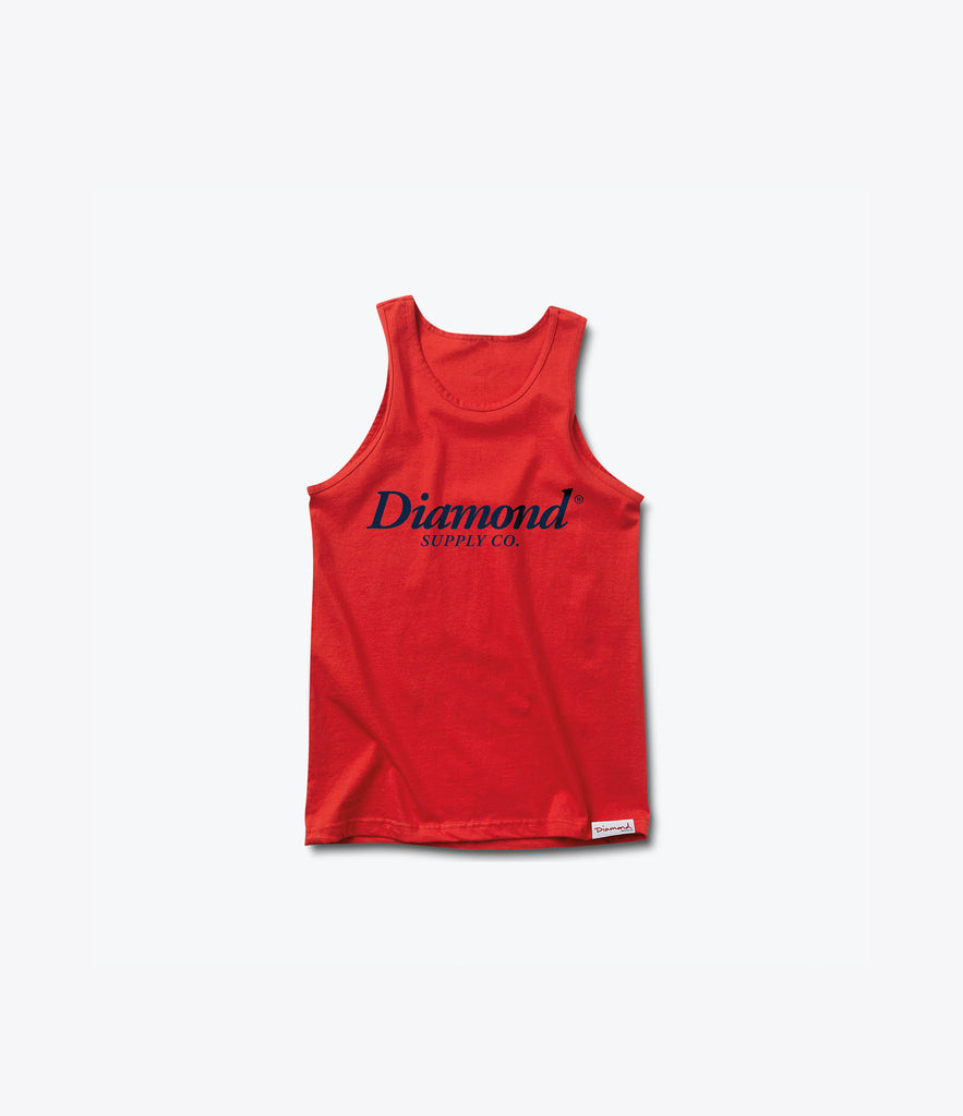 Typeset Tank Top, Summer 2016 Delivery 2 Tank Tops -  Diamond Supply Co.