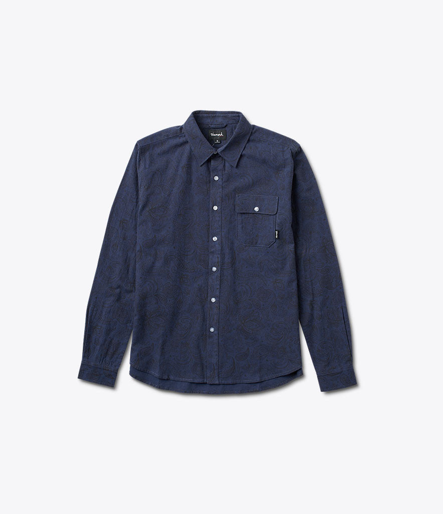 Radiant Button-Up, Fall 2016 Tops -  Diamond Supply Co.