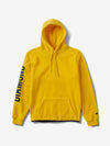 Diamond Polar Fleece Hoodie - Yellow