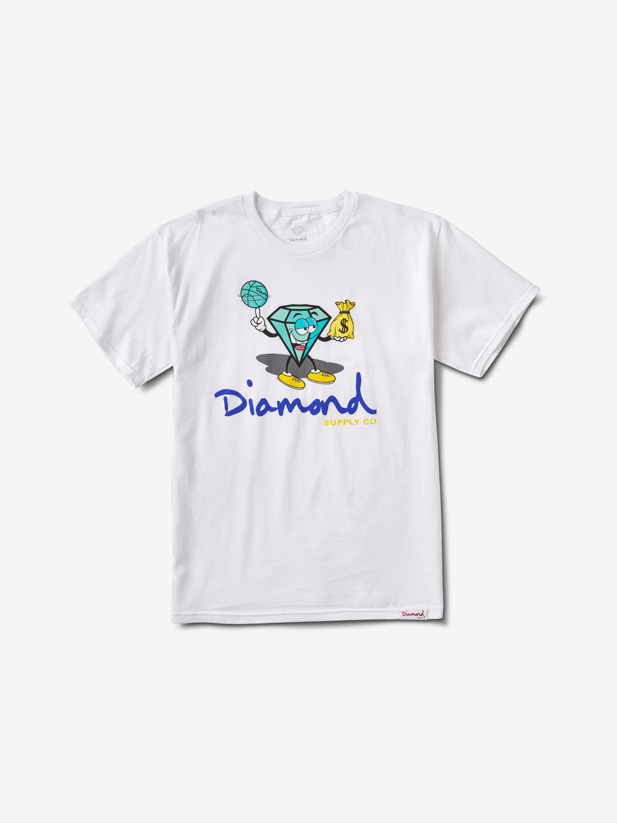 Hoop Dreams Cutty Tee - White