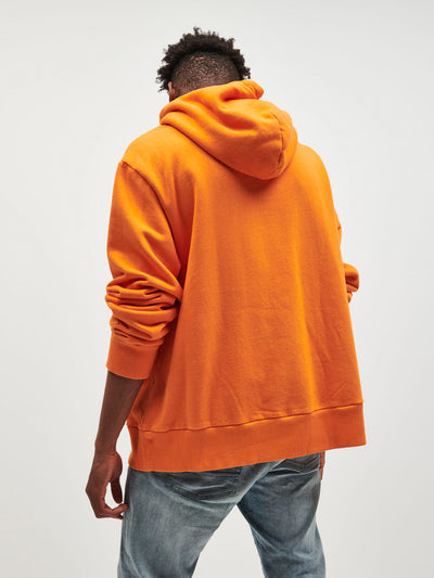 Brilliant Oversized Hoodie - Orange, Spring 19 -  Diamond Supply Co.