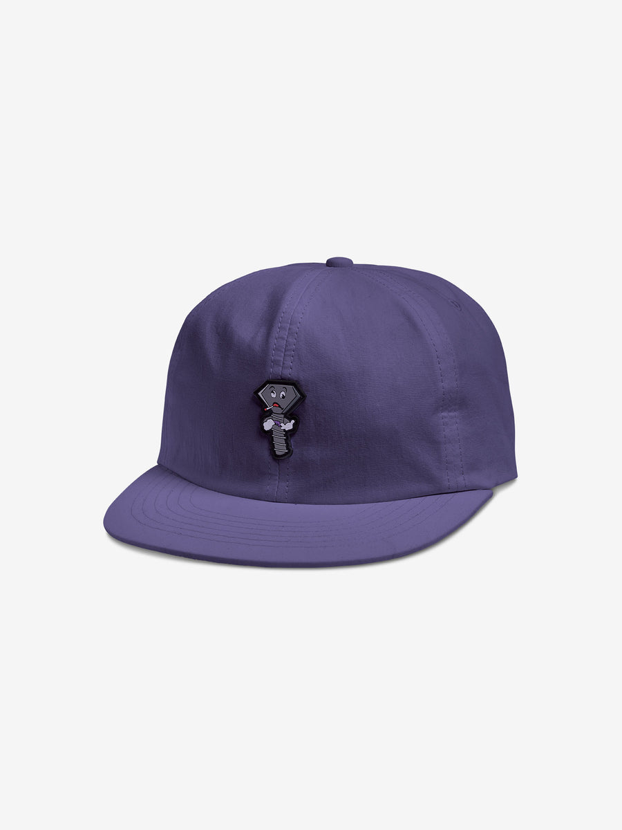 Screwed Up Unstructured Hat - Purple