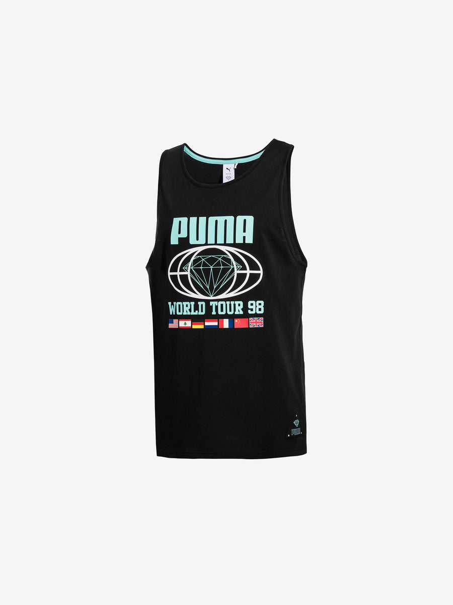 Diamond x Puma Tank - Black