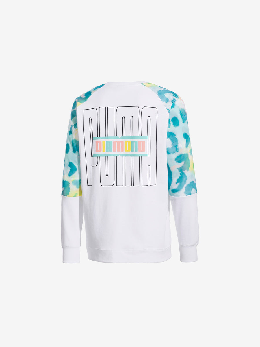 Diamond x Puma Crew - White